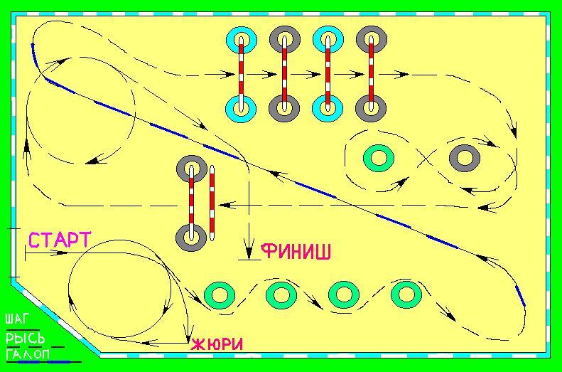 Схема маршрута на 30 мая 2004